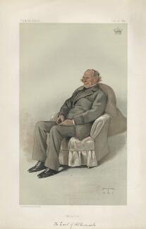 George Thomas Keppel, 6th Earl of Albemarle ('Statesmen. No. 426.'), by Théobald Chartran ('T') - NPG D44129