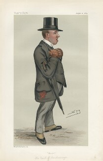 George Henry Hugh Cholmondeley, 4th Marquess of Cholmondeley ('Men of the Day. No. 289.'), by Sir Leslie Ward - NPG D44133