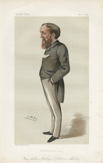 (Anthony) Evelyn Melbourne Ashley ('Statesmen. No. 438.'), by Sir Leslie Ward - NPG D44147