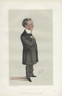 Sir Richard Quain, Bt ('Men of the Day. No. 292.'), by Sir Leslie Ward - NPG D44152