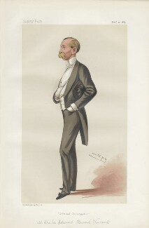 Sir (Charles Edward) Howard Vincent ('Men of the Day. No.  293.'), by Sir Leslie Ward - NPG D44153