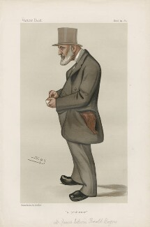 James Edwin Thorold Rogers ('Statesmen. No. 443.'), by Sir Leslie Ward - NPG D44167