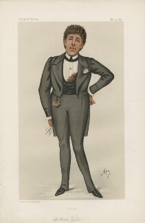 Oscar Wilde ('Men of the Day. No. 305.'), by Carlo Pellegrini - NPG D44175