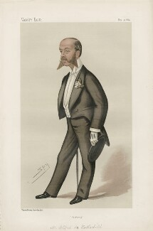 Alfred Charles de Rothschild ('Men of the Day. No. 306.'), by Sir Leslie Ward - NPG D44176