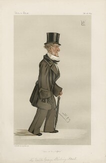 Sir Walter George Stirling 2nd Bt ('Men of the Day. No. 308.'), by Sir Leslie Ward - NPG D44184