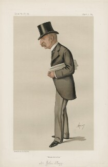 John Slagg ('Statesmen. No. 450.'), by Carlo Pellegrini - NPG D44185
