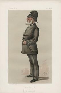 Eleazer Denning ('Men of the Day. No. 309.'), by Carlo Pellegrini - NPG D44187