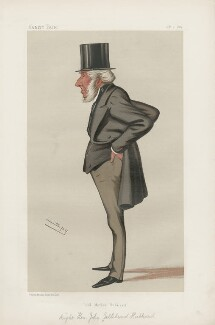 John Gellibrand Hubbard, 1st Baron Addington ('Statesmen. No. 452.'), by Sir Leslie Ward - NPG D44194