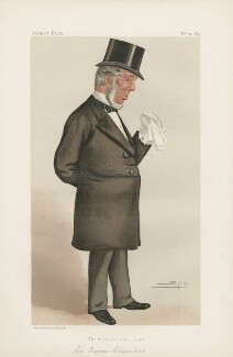 Sir Thomas Chambers ('Statesmen. No. 455.'), by Sir Leslie Ward - NPG D44201