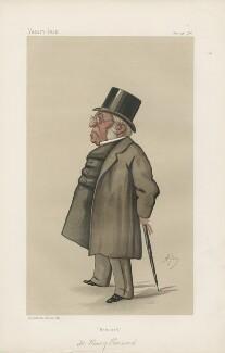 Henry Luke Tite Hansard ('Men of the Day. No. 319.'), by Carlo Pellegrini - NPG D44202