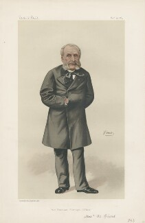 Nicholas de Giers ('Monsieur de Giers', Nicolay Karlovich Girs) ('Men of the Day. No. 322.'), by Constantine von Grimm ('Nemo') - NPG D44206