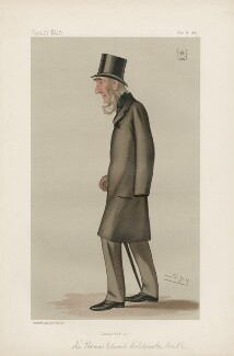 Sir Thomas Edward Colebrooke, 4th Bt' ('Statesmen. No. 460.'), by Sir Leslie Ward - NPG D44215