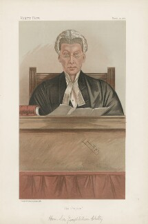 Sir Joseph William Chitty ('Judges. No. 15.'), by Sir Leslie Ward - NPG D44219