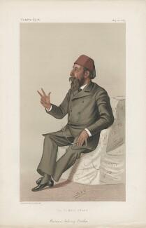 Hassan Fehmy Pasha ('Statemen. No. 464.'), by Sir Leslie Ward - NPG D44226