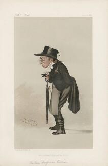 Benjamin Harrison ('Men of the Day. No. 333.'), by Sir Leslie Ward - NPG D44229