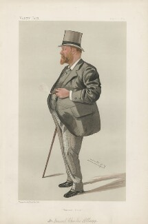 Samuel Charles Allsopp, 2nd Baron Hindlip ('Statesmen. No. 467.'), by Sir Leslie Ward - NPG D44237