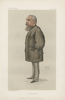 Sir Richard Francis Burton ('Men of the Day. No. 343.'), by Carlo Pellegrini - NPG D44249