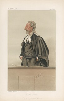 Sir Harry Bodkin Poland ('Men of the Day. No. 355.'), by Sir Leslie Ward - NPG D44270