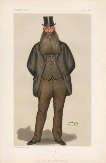 Sir John Henry Kennaway, 3rd Bt ('Statesmen. No. 486.'), by Sir Leslie Ward - NPG D44274