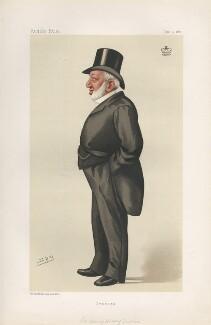 Henry Hussey Vivian, 1st Baron Swansea ('Statesmen. No. 490.'), by Sir Leslie Ward - NPG D44282