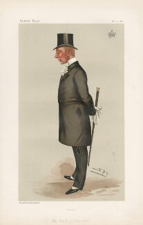 Hugh Cecil Lowther, 5th Earl of Lonsdale ('Statesmen. No. 492.'), by Sir Leslie Ward - NPG D44287