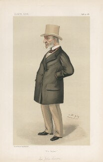 Sir John Simon ('Statesmen. No. 500.'), by Sir Leslie Ward - NPG D44298