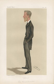 Lord Edward Cavendish ('Statesmen. No. 501.'), by Sir Leslie Ward - NPG D44299