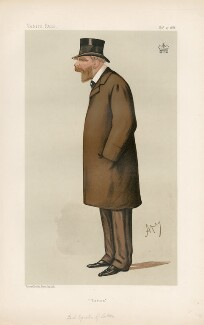 Wilbraham Egerton, 1st Earl Egerton of Tatton ('Statesmen. No. 506.'), by Carlo Pellegrini - NPG D44307