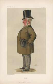 Matthew Dawson ('Men of the Day. No. 369.'), by Liborio Prosperi ('Lib') - NPG D44309