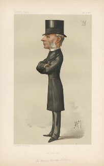 Henry Thurstan Holland, 1st Viscount Knutsford ('Statesmen. No. 511.'), by Carlo Pellegrini - NPG D44317