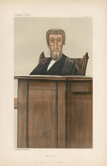 Sir Charles Parker Butt  ('Judges. No. 16.'), by Carlo Pellegrini - NPG D44319
