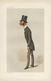 Hugh Fortescue, 4th Earl Fortescue ('Statesmen. No. 512.'), by Carlo Pellegrini - NPG D44320
