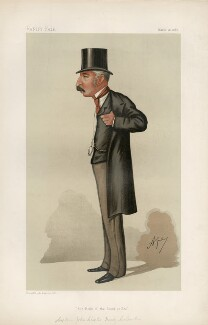 Sir John Charles Ready Colomb ('Statesmen. No. 516.'), by Carlo Pellegrini - NPG D44325