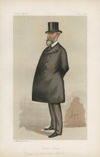 Sir Edward Bruce Hamley ('Statesmen. No. 517.'), by Carlo Pellegrini - NPG D44326