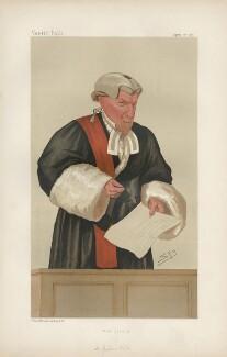 William Ventris Field, 1st Baron Field ('Judges. No. 18.'), by Sir Leslie Ward - NPG D44330
