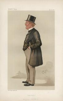 George Pitt-Lewis ('Statesmen. No. 522.'), by Sir Leslie Ward - NPG D44334