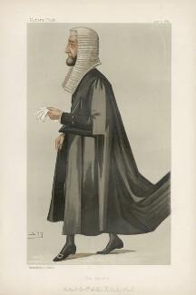 Arthur Wellesley Peel, 1st Viscount Peel ('Statesmen. No. 523.'), by Sir Leslie Ward - NPG D44339
