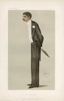 Henry John Brinsley Manners, 8th Duke of Rutland ('Men of the Day. No. 384.'), by Carlo Pellegrini - NPG D44345