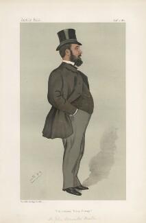 Sir John Henniker Heaton, 1st Bt ('Statesmen. No. 528.'), by Sir Leslie Ward - NPG D44350