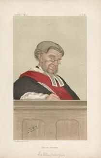 Sir William Robert Grove ('Judges. No. 19.'), by Sir Leslie Ward - NPG D44353