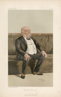 William Henry Smith ('Statesmen. No. 533.'), by Sir Leslie Ward - NPG D44358