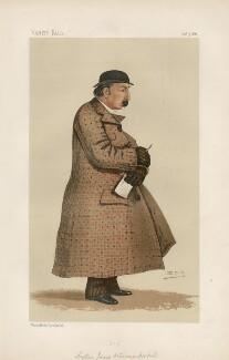 James Octavius Machellm ('Men of the Day. No. 390.'), by Sir Leslie Ward - NPG D44361