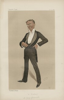 George Grossmith ('Men of the Day.; No. 393.'), by Sir Leslie Ward - NPG D44369