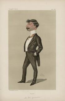 Joannes Gennadius ('Men of the Day. No. 396.'), by Sir Leslie Ward - NPG D44372