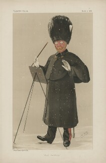 Daniel Godfrey ('Men of the Day. No. 398. '), by Sir Leslie Ward - NPG D44376