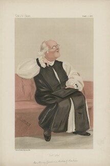 Harvey Goodwin ('Men of the Day. No. 399.'), by Sir Leslie Ward - NPG D44377