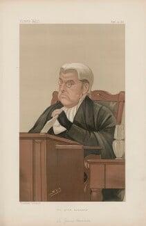 James Hannen, Baron Hannen ('Judges, No. 21.'), by Sir Leslie Ward - NPG D44382