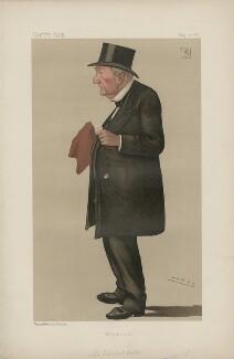 Sir Edward Bates, 1st Bt ('Statesmen. No. 543.'), by Sir Leslie Ward - NPG D44385