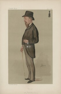Joseph Henry Blackburne ('Men of the Day. No. 402.'), by Sir Leslie Ward - NPG D44388