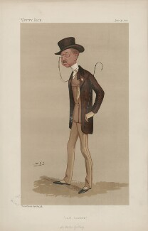Sir Walter Gilbey, 1st Bt ('Men of the Day. No. 404.'), by Sir Leslie Ward - NPG D44392